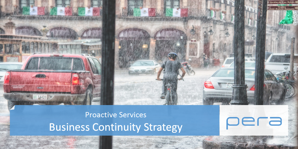 Proactive Services Business Continuity Strategy